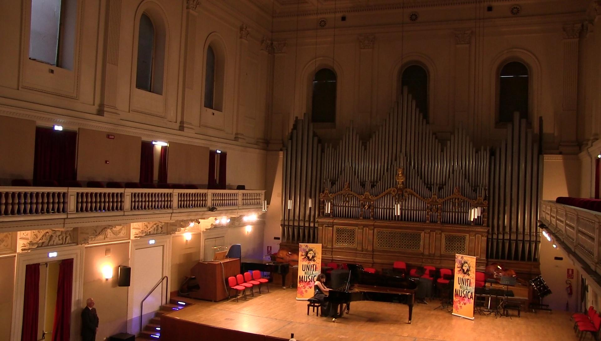 Blandine Waldmann Conservatoire Santa Cecilia Rome